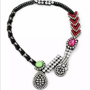 Betsey Johnson luxury charm Enamel necklace.